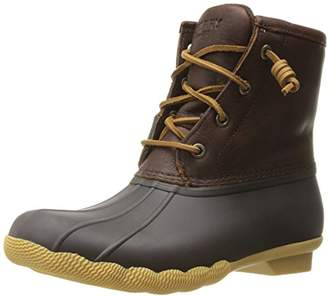 Sperry Women's Salwater Thinsulate Tan Dark Rain Boot