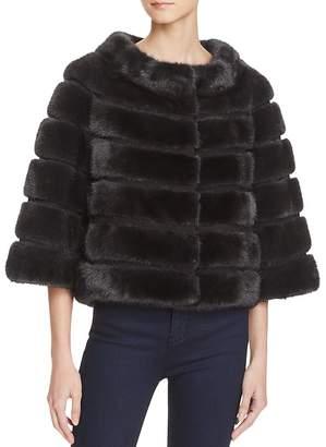 Maximilian Furs Suede Trim Mink Coat - 100% Exclusive