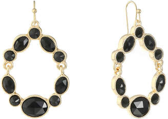 MONET JEWELRY Monet Jewelry Black Drop Earrings