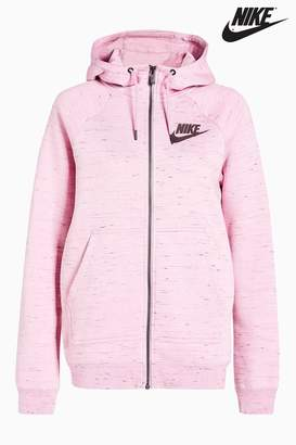 Next Womens Nike Pink Rally Hoody