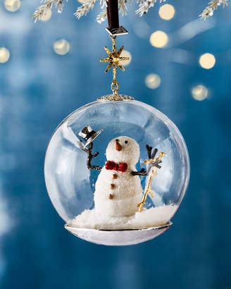 Michael Aram Snowman Globe Christmas Ornament