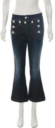 Gucci Sailor Flare Mid-Rise Jeans