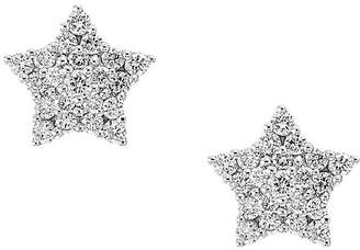 Bloomingdale's Diamond Star Stud Earrings in 14K White Gold, 0.35ct. t.w. - 100% Exclusive