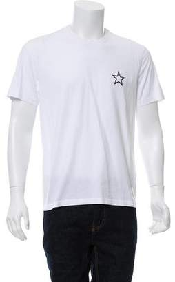 Givenchy Star Print Crew Neck T-Shirt
