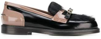L'Autre Chose textured loafers