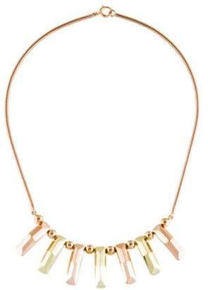 14K Retro Collar Necklace