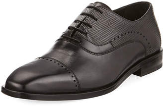 Jared Lang Lace-Up Brogue Leather Dress Shoe