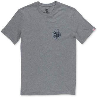 Element Men's Hops Heather Logo Graphic T-Shirt