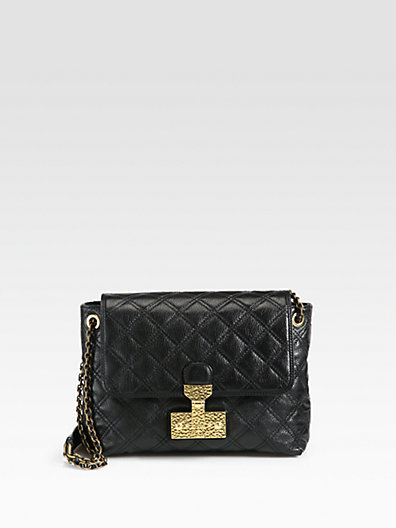 Marc Jacobs Quilted Saffron Baroque Large Bag