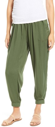 Fourteenth Place Over the Belly Maternity Jogger Pants