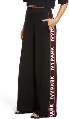 Ivy Park R) Flatknit Wide Leg Trousers