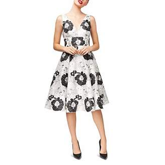 Betsey Johnson Women's Sleeveless fit and Flare Dress