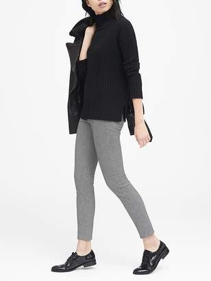 Banana Republic Devon Legging-Fit Houndstooth Pant
