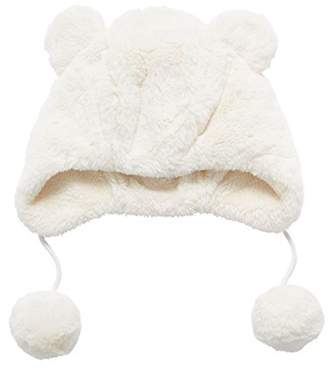 Mothercare Girl's Fluffy Scarf, Hat and Glove Set,(Manufacturer Size: 2)