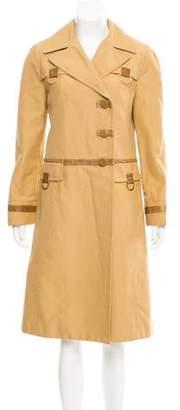 Marc Jacobs Long Button-Up Coat
