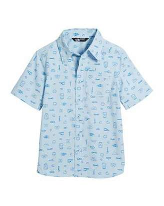 The North Face Short-Sleeve Pursuit Collared Shirt, Size XXS-XL
