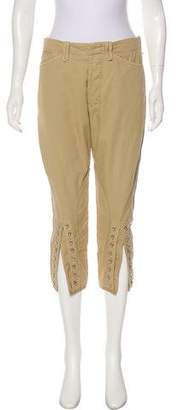 Balenciaga High-Rise Cropped Pants