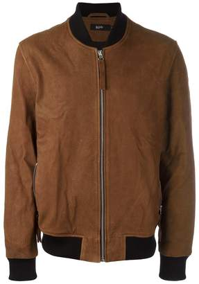 Blood Brother zipped bomber jacket