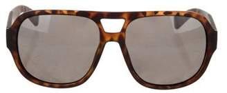 Marc by Marc Jacobs Tortoiseshell Shield Sunglasses w/ Tags