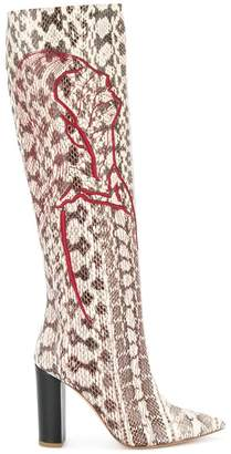 Malone Souliers Harper embroidered boots