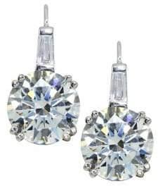Lord & Taylor Cubic Zirconia Drop Earrings