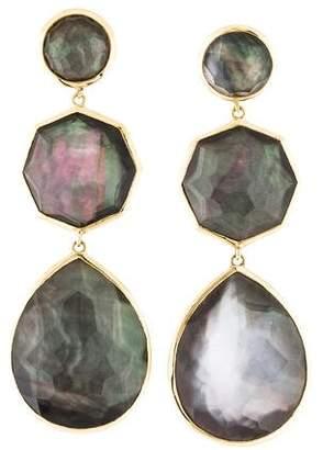 Ippolita 18K Mother of Pearl & Quartz Drop Earrings