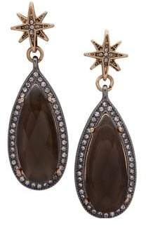 lonna & lilly Star & Teardrop Link Earrings