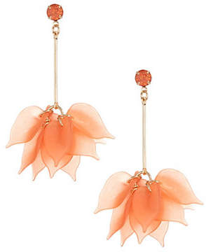 ETEREO Droopy Petal Drop Earrings