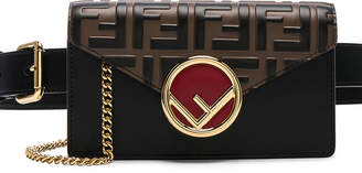 Fendi Logo Embossed Hip Belt