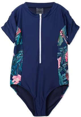 Duskii Girl Adela short sleeve rash swimsuit