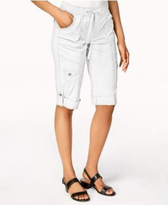 Style&Co. Style & Co Drawstring Cargo Shorts, Created for Macy's