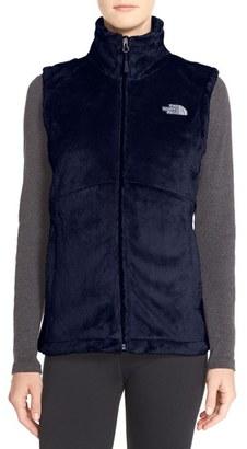 Women's The North Face 'Osito' Fleece Vest $80 thestylecure.com