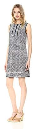 Max Studio Women's Sleeveless Yoke Dress