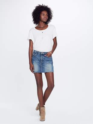 Mother The Vagabond Mini Skirt - Natural Born Trouble