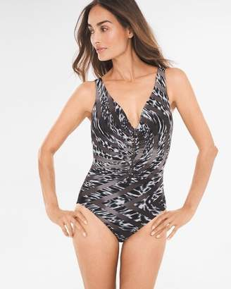 Miraclesuit Feline Fixation Charmer One-Piece Swimsuit