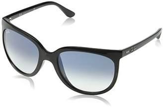 Ray-Ban Women's 4126 Sunglasses, Negro