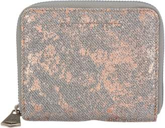 Brixton Aimee Kestenberg Leather Zip Around Wallet
