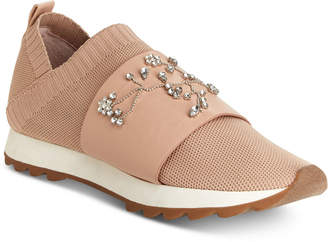 Nanette Lepore Nanette by Lourie Embellished Jogger Sneakers, Created for Macy's Women's Shoes