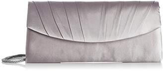 Menbur Womens Basic Clutch 996300071 Grey ()