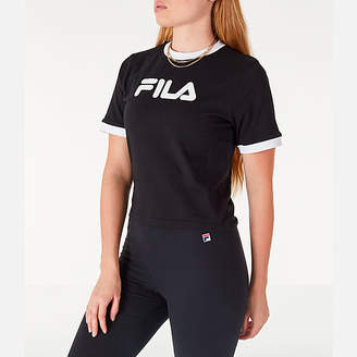Fila Women's Tionne Cropped T-Shirt