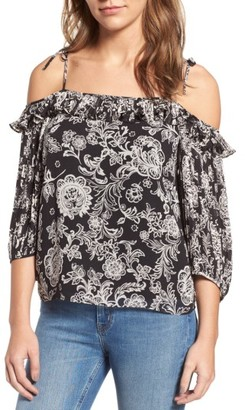 Women's Ella Moss Ria Off The Shoulder Blouse $168 thestylecure.com