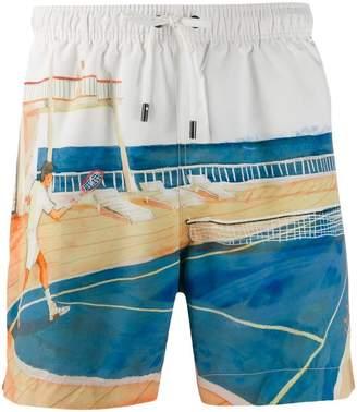 914d1ad697 Ermenegildo Zegna printed swim shorts