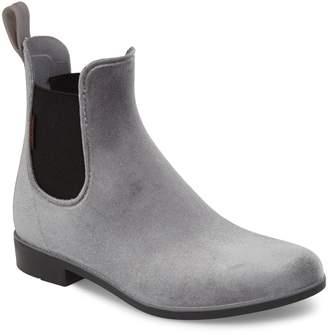 Chooka Waterproof Velvet Chelsea Waterproof Rain Boot