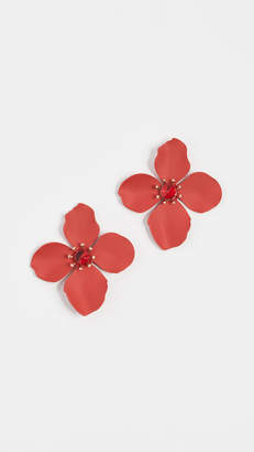 Shashi Large Flower Stud Earrings