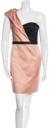 Jason Wu One-Shoulder Mini Dress