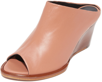 Robert Clergerie Wedge Mules $625 thestylecure.com