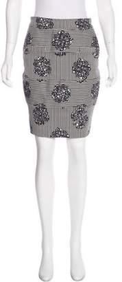 Opening Ceremony Printed Knee-Length Skirt