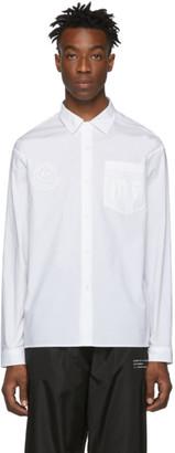 Moncler Genius 7 Hiroshi Fujiwara White Logo Shirt