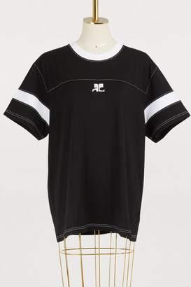 Courreges Oversized logo T-shirt