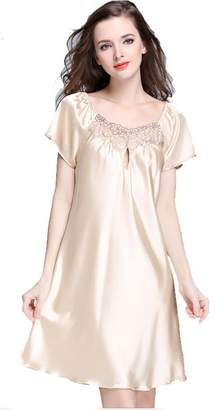 at Amazon Canada · King Star Women Nightwear Long Flutter-Sleeve Nightgown  Sleepwear( 205eee84e
